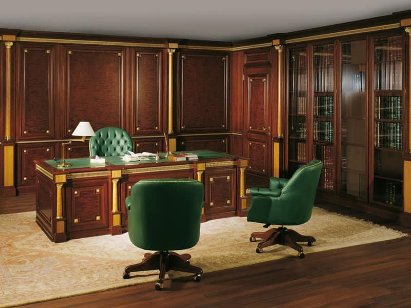 Decorative paneling for luxury offices inspired to the for Office design victoria