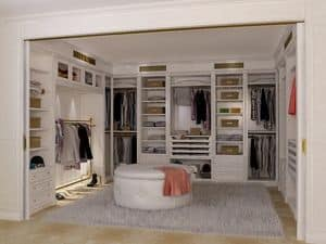 Picture of Boiserie walk-in closet 2, modern walk-in closet