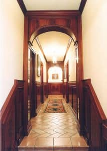 Picture of Corridor Boiserie, luxury classic woodwork