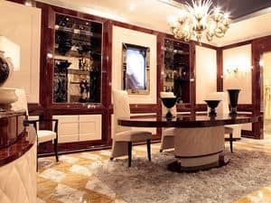 Picture of Dolce Vita Boiserie with Tv, classic style woodwork