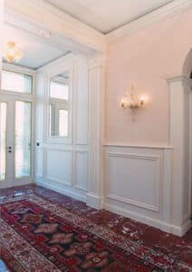 Picture of Entry Boiserie 1, wooden wall panels