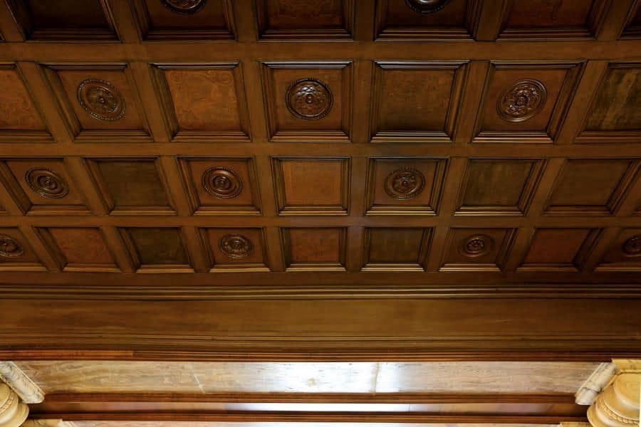 Typical Ceiling In Wood Ideal For Luxury Hotels Idfdesign