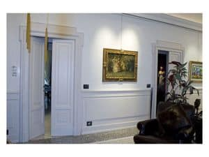 Picture of Hall Boiserie 1, wooden wall panels