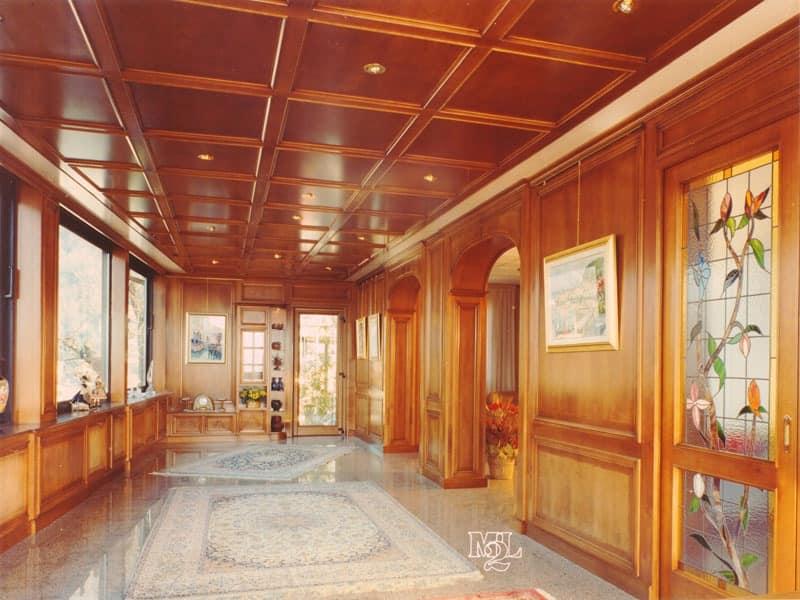 Luxury classic panelling Office IDFdesign