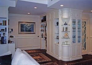 Picture of Living Room Boiserie, decorative wall panel