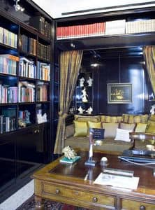 Picture of Office Boiserie 1, luxury classic panelling