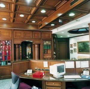 Picture of Office boiserie, luxury classic woodwork