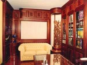 Picture of Office Boiserie, panelling in wood