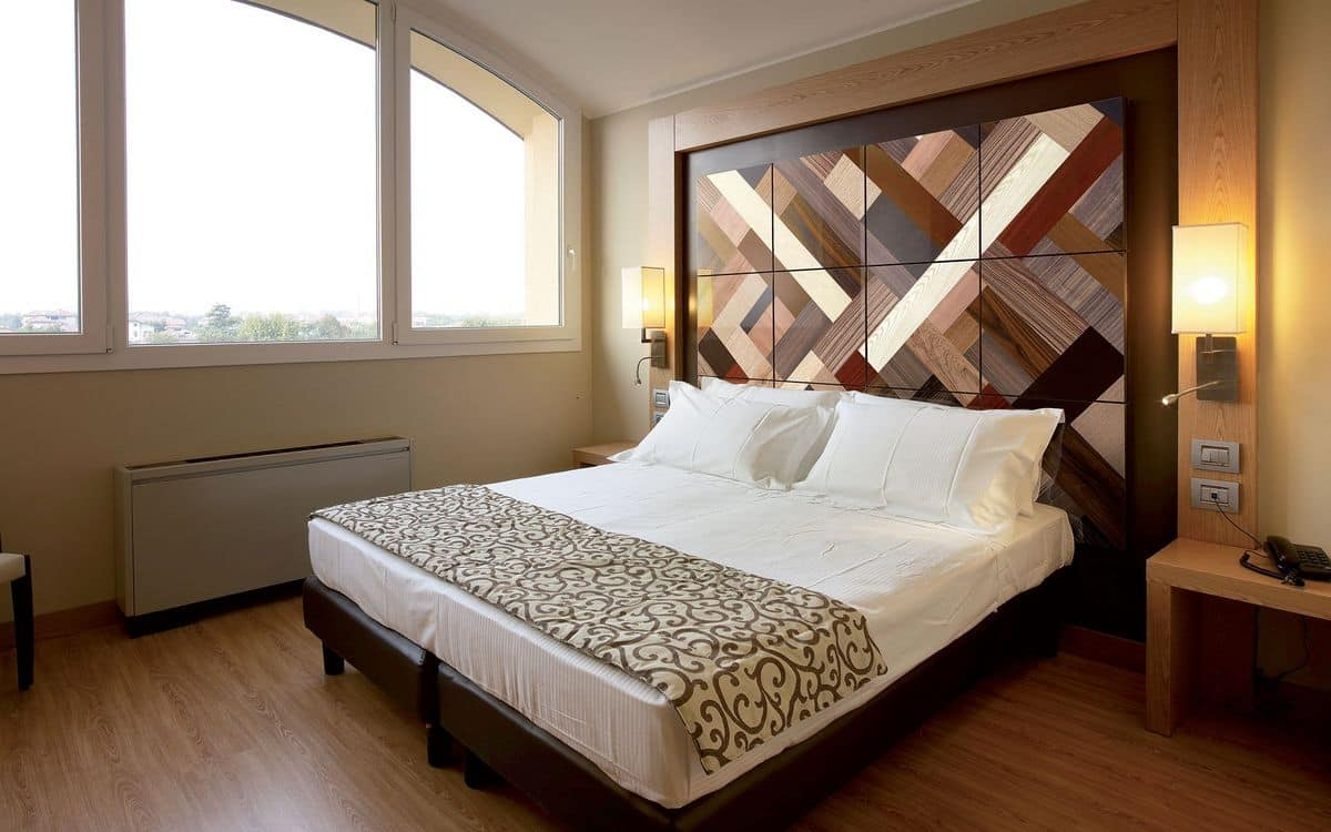 Wall panels for bedrooms, tailored  IDFdesign
