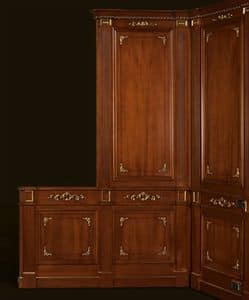 Picture of Paris Customized Boiserie, wooden panelling