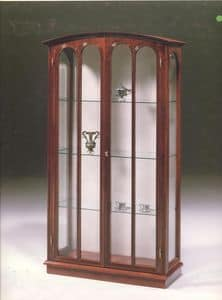2230 SHOWCASE, Classic luxury display cabinet for living room, with 2 doors