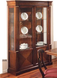 2595 display cabinet, Empire style showcase