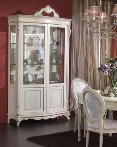 Picture of 3440 DISPLAY CABINET, hand worked showcases