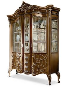 4600, Traditional display cabinet mirrored on back