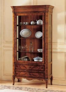 Art. 903, Showcase in decorated wood, '800 French style