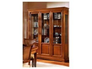 Picture of Classical furnishing 3 doors showcase Adelaide, classic showcases