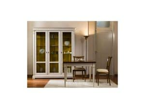 Picture of Classical lacquered furnishing - showcase, showcases in wood