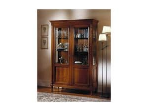 Picture of Showcase Argentier classical furnishing, luxury furniture with glass shelves