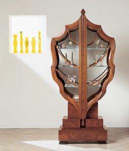 Picture of V498 La foglia, classic style display cabinet