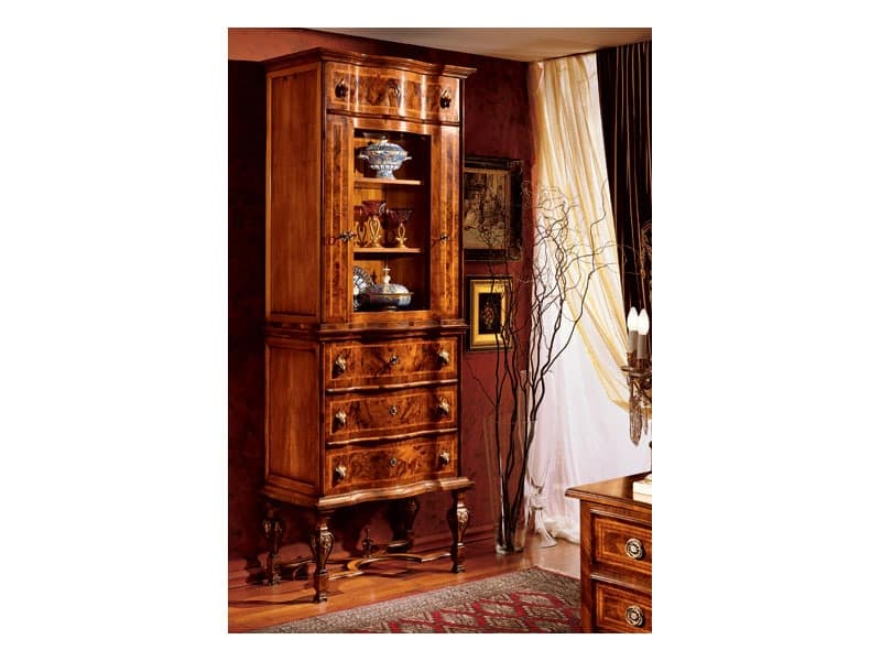 Display Cabinet For Classical Dining Room IDFdesign