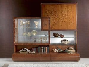 Picture of VL22, hand worked display cabinet