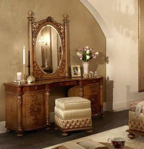 Picture of 6414-6417, classic-dressing-table-in-decorated-wood