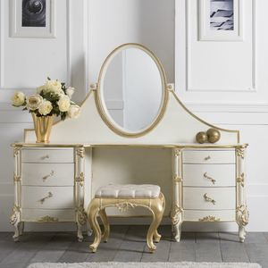 Art. 0128, Classic style dressing table with mirror