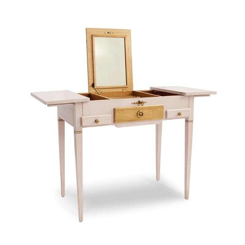 Dressing Table In Classical Style Lacquered Wood For