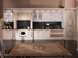 Picture of Art. Liberty Viennese kitchen, suitable for kitchen