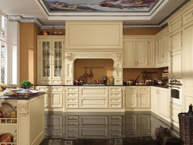 kitchens classic style idf
