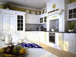 Picture of Versailles kitchen, luxury kitchen