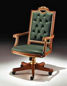 Picture of Art. 8089/A, classic style office chair