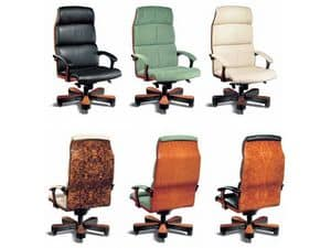 Picture of Vela Legno, presidential chairs in leather