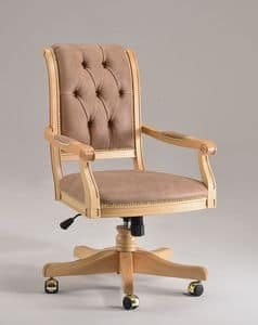 Picture of WENDY OFFICE office armchair 8286S, chairs on castors