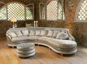 Picture of Airone modular, buttoned sofas