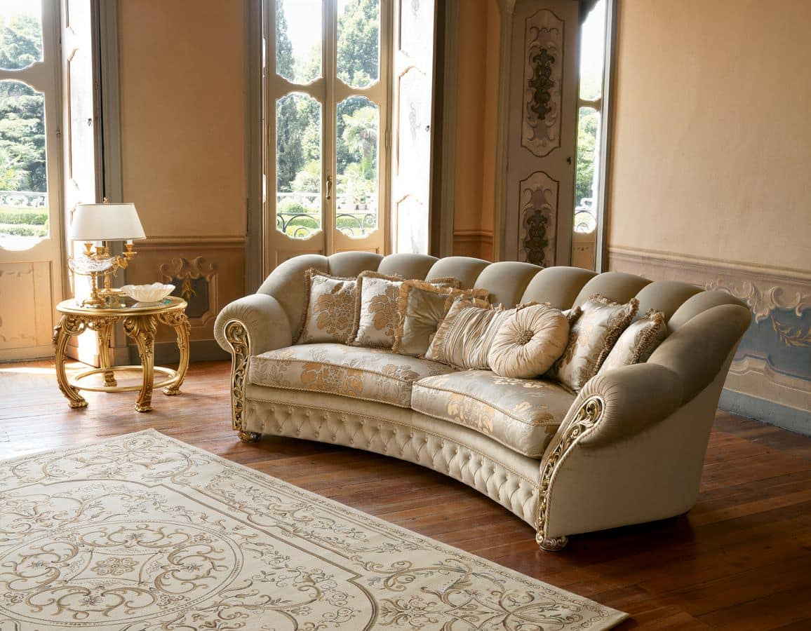 2 Seater Sofa Suited For Classic Living Rooms IDFdesign