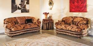 Picture of Aramis, buttoned sofas