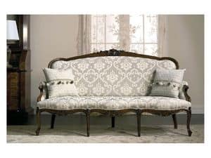 Picture of Art. CA63 Carlotta, stuffed sofa