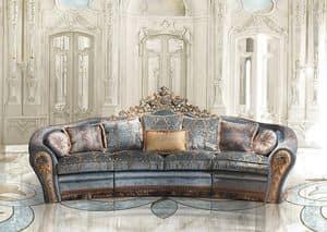 Bijoux A/2763/3, Sofa in classic luxury style