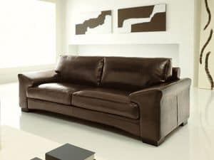 Picture of Boomerang, buttoned sofa