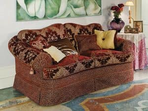 Butterfly, Upholstered sofa for classics luxury living rooms
