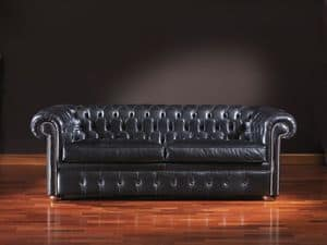 Picture of Chesterfield, stuffed-sofas