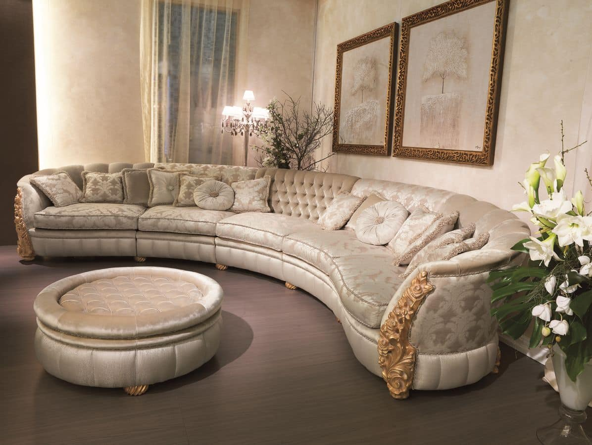 Modular sofa suited for luxury villas idfdesign for Luxury modular