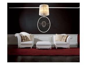 Picture of Divano Doge Fidia, stuffed sofas