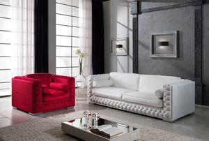 ELITE, Tufted sofa with Swarovsky