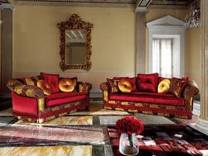 Picture of Ludovica, luxury classic sofa