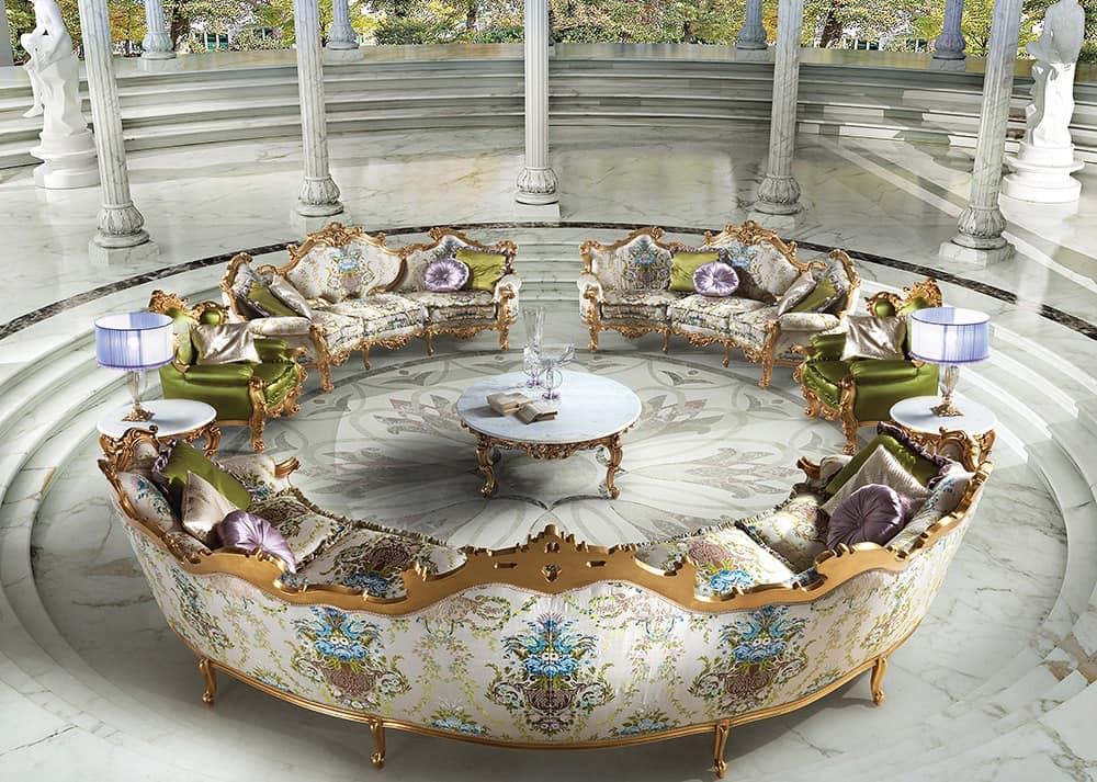 5 Seater Classic Luxury Sofa For Living Rooms Idfdesign