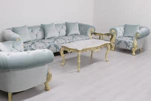 Oceano damascato, High quality sofa with classic style