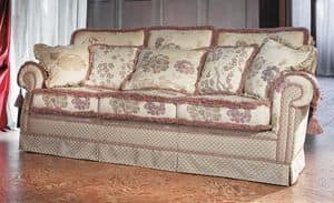 Pamela, Classic luxury sofa for living room
