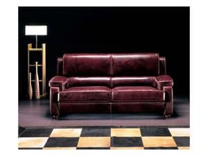 Picture of Sorbonne, buttoned sofa